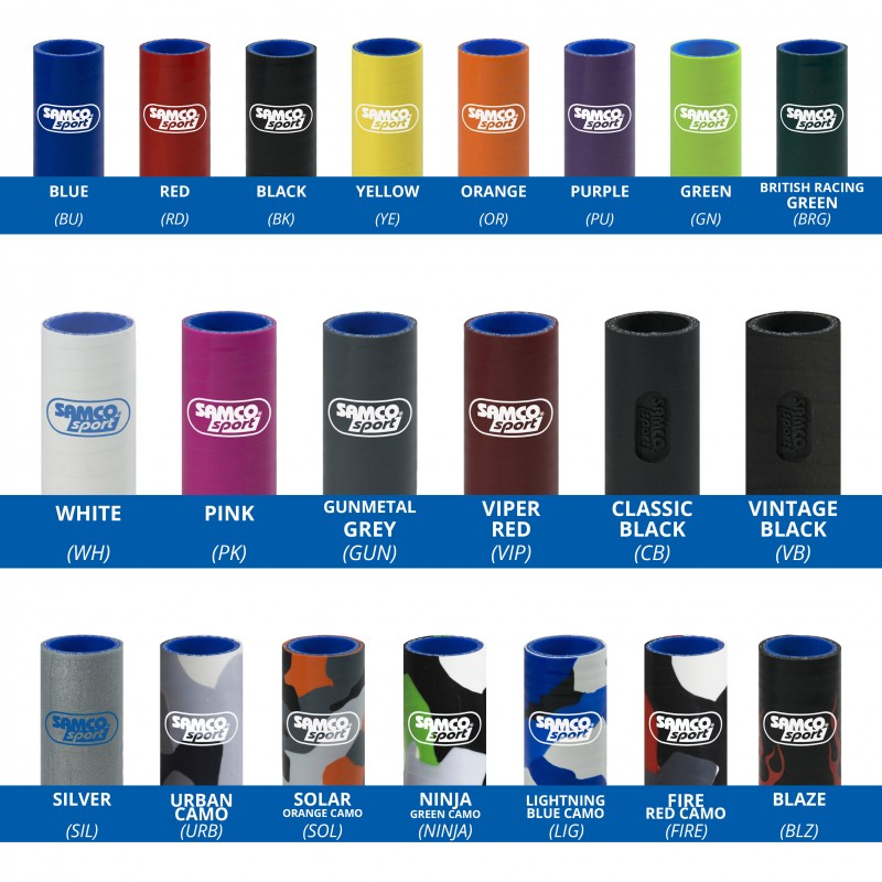 Samco Sport OEM Replacement 5 Piece Samco Sport Silicone
