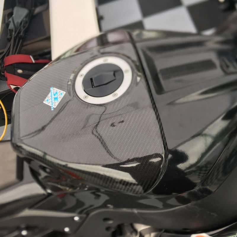 SE Composites ZX10-R Carbon Fiber Tank Shroud 2011-2019