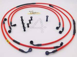 Aftermarket Motorcycle Brakes - Brake Line Kits