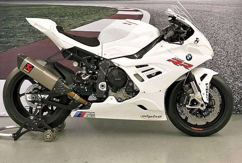 Carbonin Avio Fiber WSBK Race Fairing Kit 2019-2020 K67 BMW S1000RR