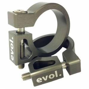 Evol Technology - Evol Technology Penske Shock Reservoir Bracket Kit Subframe Mounted