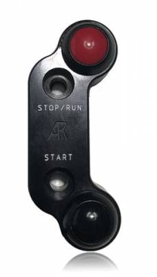 Apex Racing Development - Generic Two Button Run/Kill  Switch (Brembo Mount In line) RH