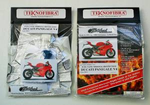 Teknofibra - Teknofibra Fuel Tank Thermal Insulation Kit Ducati Panigale V4 V4R S