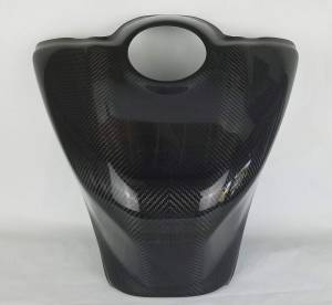 SE Moto - SE Moto Carbon Fiber Tank Shroud 17-19 Yamaha R6