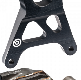 Brembo - Brembo Caliper + Bracket Axial CNC Rear Black Suzuki GSXR1000 07-08