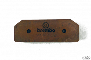 Brembo - Brembo Brake Pad, Z04 for XA3J7F0/F1