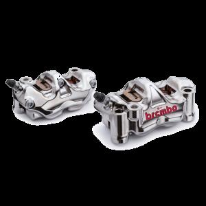 Brembo - Brembo Caliper Set GP4-RX Radial CNC 108mm Nickel