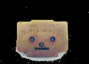 Brembo - Brembo Brake Pad, H38 Sintered