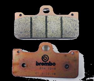 Brembo - Brembo Brake Pad Set Z04 8mm for XA3B860/61
