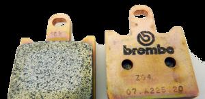 Brembo - Brembo Brake Pad Set Z04 for Kawasaki ZX6 Z1000