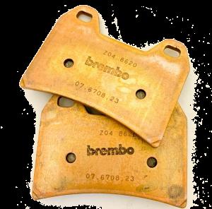 Brembo - Brembo Brake Pad Set Z04 Pad for 2 Pin HPK CNC Caliper