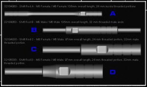 FTECU - FTECU Flash Tune Shift Rods