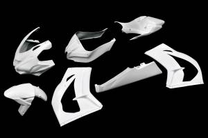 Carbonin - CarboninAvio Fiber Race Bodywork 2016-2020 Kawasaki ZX10R