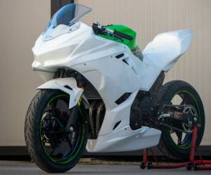 Carbonin - Carbonin Avio Fiber Race Bodywork 2018-2020 Kawasaki ZX-400 Ninja