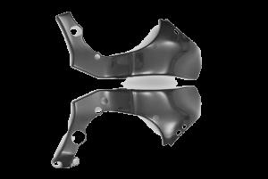Carbonin - Carbonin Carbon Fiber Frame Protectors 16-19 Kawasaki ZX-10R
