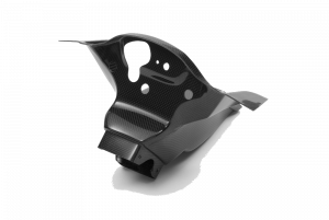 Carbonin - Carbonin Carbon Fiber AirBox Inlet Tubes W/ Stay 16-19 Kawasaki ZX10R
