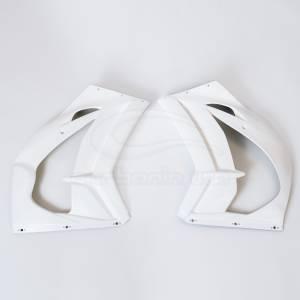 Carbonin - Carbonin Avio Fiber Right Side Panel 2016-2020 Kawasaki ZX-10R