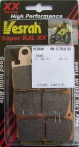 Vesrah - Vesrah Brake Pads VD-277XX Yamaha YZF-R1 07-14 (1 set/2 Calipers)