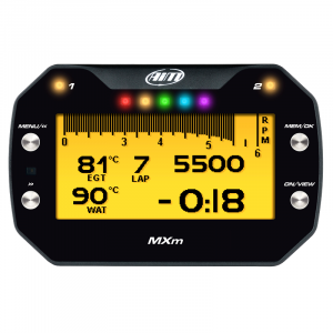AiM Sports - AiM MXM Motorcycle Data Logging Dash With GPS