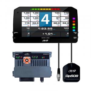 "AiM Sports - AiM PDM 8 with 6"" screen 2m GPS"