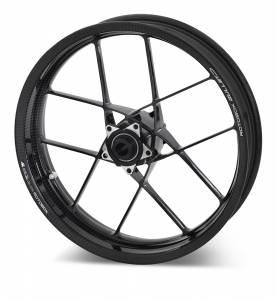 Rotobox - ROTOBOX BULLET Forged Carbon Fiber Front Wheel Ducati Desmosedici RR 1198 /1098/939 SuperSport 848 EVO/998 /748 03+ 999 /749/Monster 821 Monster 1100 03+ /S4RS /S2R Monster /Multistrada 1200 /1260