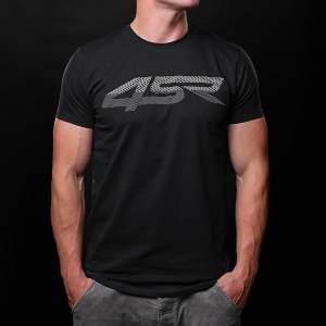 4SR - 4SR T-SHIRT 3D BLACK