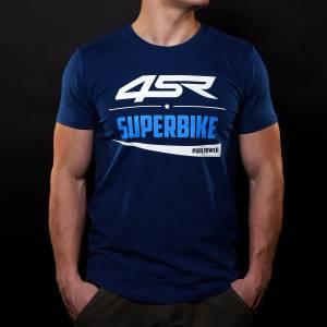 4SR - 4SR T-SHIRT SUPERBIKE BLUE