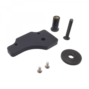 AiM Sports - AiMsolo2/DL steering stem mounting bracket 15-19 Yam R1 / 17-20 R6