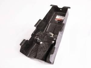 Carbonin - Carbonin Carbon Fiber Battery Tray Cover 2021 Honda CBR1000RR-R