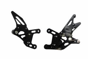 Accossato - Accossato Adjustable Racing Street Rearsets Made in AluminumYamaha YZF-R12009-2014