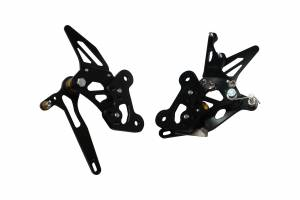 Accossato - Accossato Adjustable Racing Street Rearsets Made in Aluminum