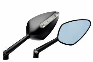 Accossato - Accossato CNC rear-view mirror w/ integrated direction