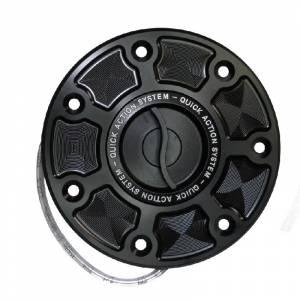 Accossato - Accossato fuel-caps with quick action system in CNC-worked Aluminum