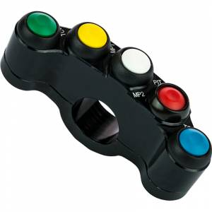 Accossato - Accossato Racing 5-key button panel CNC Left Side