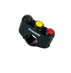 Accossato - Accossato Customized Racing 3-key button panel CNC Right/Left Side
