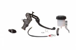 Accossato - KITA 4:Radial Brake Master Cylinder (CY version) diam. 19 con Folding Lever(no PRS and Ready To Brake) + Mirror Holder: M8 (MH001) o M10X125 (MH002) + hydraulic switch: 1 hole (ID001) o 2 holes (ID002) + reservoir 30ml (KITVG)