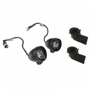 Accossato - Accossato Universal led fog light kit Aluminum-made with led technology with bracket