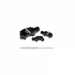 Accossato - Accossato Mirror holder for Accossato brake master cylinders cnc worked screw pitch M10x1.25