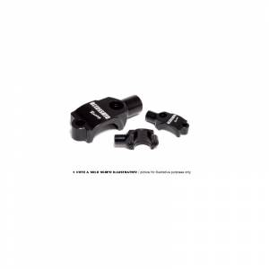 Accossato - Accossato Mirror Holder For Accossato clutch master cylinder w/ integrated reservoir screw pitch M10x1.25