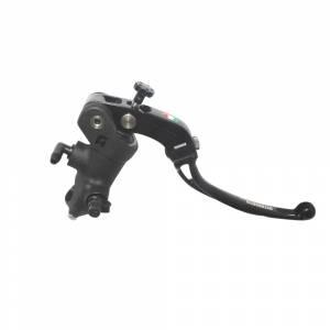 Accossato - Accossato Radial Front Brake Master Cylinder Forged Anodized Black14 x 18mmw/ Folding Lever