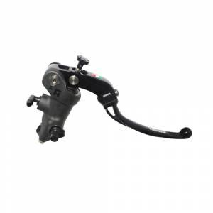 Accossato - Accossato Radial Brake Master Cylinder PRS 14 x 17-18-19 With black anodyzed body and colorful folding lever (nut + lever)
