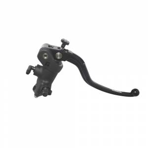 Accossato - Accossato Radial Front Brake Master Cylinder Forged Anodized Black 15 x 20mm  w/ Fixed Lever