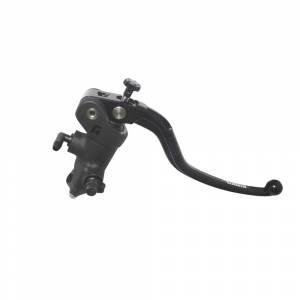 Accossato - Accossato Radial Front Brake Master CylinderForged Anodized Black 17 x 20mmw/ Fixed Lever