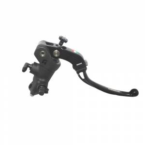 Accossato - Accossato Radial Brake Master 19 x 19Forged Anodized Blackw/ Folding Lever
