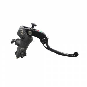 Accossato - Accossato Radial Brake Master Cylinder PRS 19 x 17-18-19  With Black Anodyzed Body and colorful Revolution Lever (nut+insert)