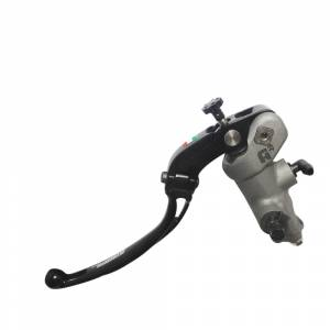 Accossato - Accossato Radial Clutch Master Cylinder Forged PRS 16 x 15-16-17 with folding lever