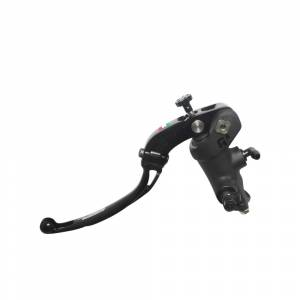Accossato - Accossato Radial Clutch Master CylinderPRS 14 x 15-16-17 With black anodyzed body and colorful folding lever (nut + lever)