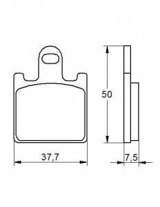 Accossato - Accossato Brake Pads Kit For Motorcycle,  Compound, AGPA107 code
