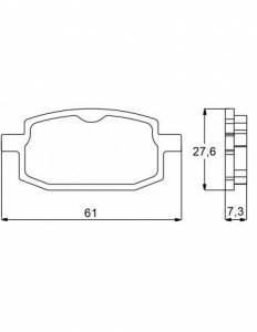 Accossato - Accossato Brake Pads Kit For Motorcycle, Made In Italy Compound, AGPA84 code