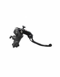 Accossato - Accossato Radial Brake Master PRS 17mm x 17-18-19 Forged Anodized Black w/ Folding Lever
